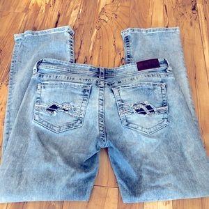 BKE jeans size 31x 31 1/2 31R Stella straight